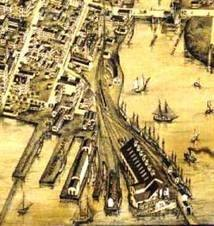 belle dock wharf